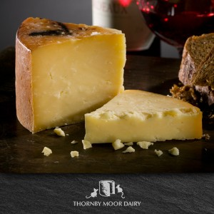 Thornby Moor Dairy - Cumberland Oak Smoked wedge