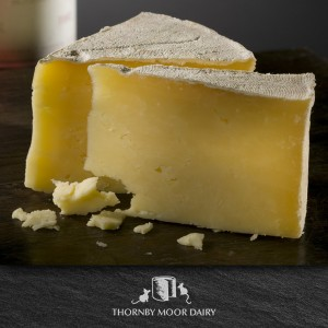Thornby Moor Dairy-Little-waxed-Cumberland-Farmhouse wedge